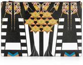 Givenchy Egyptian art deco clutch