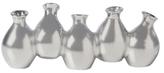 Torre & Tagus Mini Carafe Five-Bud Ceramic Vase