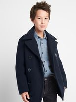 Gap Melton wool peacoat