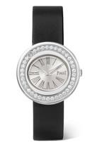 Piaget Possession Satin, 18-karat White Gold Diamond Watch - one size