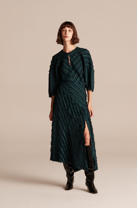 Rebecca Taylor Eyelash Stripe Skirt