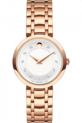 Movado Ladies 1881 Quartz Watch 0607100