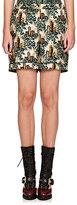 Burberry X Barneys New York Women's Castle-Print Pajama Shorts-DARK GREEN