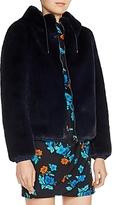 Maje Baya Faux-Fur Jacket