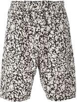 Christopher Kane blotchy print shorts