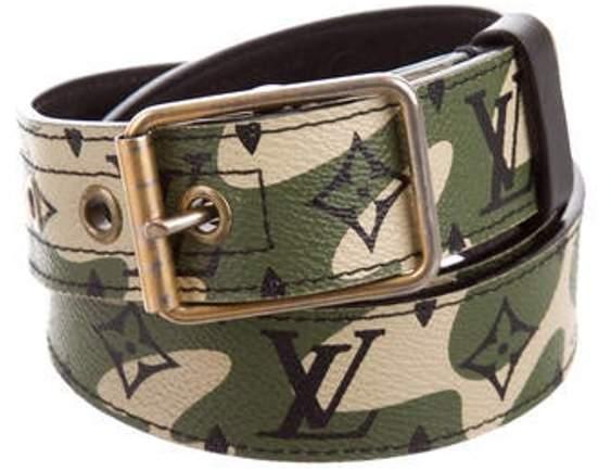 cde240a9eb2 Monogramouflage Belt olive Monogramouflage Belt