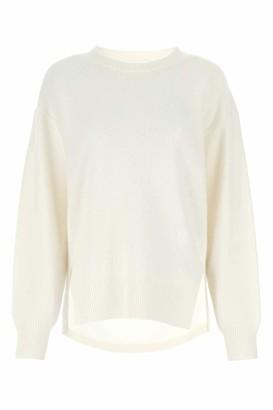 Chloé Drop-Shoulder Crewneck Sweater