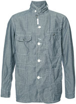 Engineered Garments chambray shirt jacket - men - Cotton - M