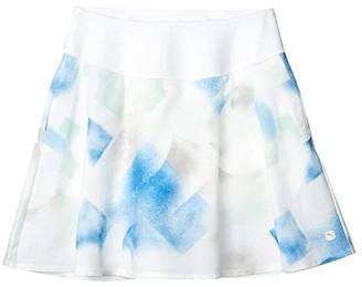 Puma PWRSHAPE Soft Geo Skirt (Bright White) Women's Skirt