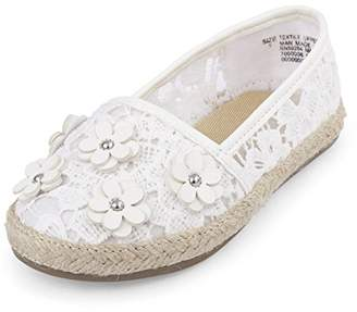 Children's Place The Girls' TG LACE ESPADRIL Slipper