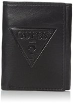 GUESS Men's Logo Trifold Wallet