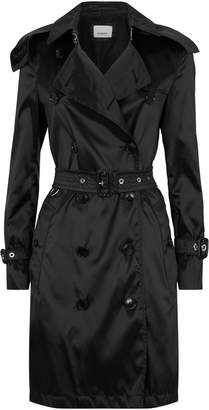 Burberry Kensington Heritage Detachable Hood Trench Coat