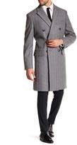 Jack Spade Kempton Double-Breasted Wool Blend Topcoat