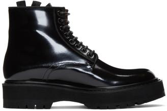 Givenchy Black Camden Utility Boots