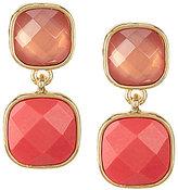 Anne Klein Double-Drop Earrings