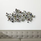 Crate & Barrel Cosgrove Metal Wall Sculpture