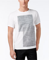 INC International Concepts Men's Textured Print T-Shirt, Only at Macy's