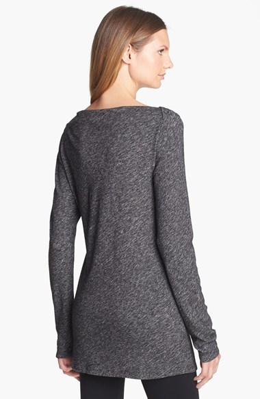 Eileen Fisher Bias Twisted Wool Top