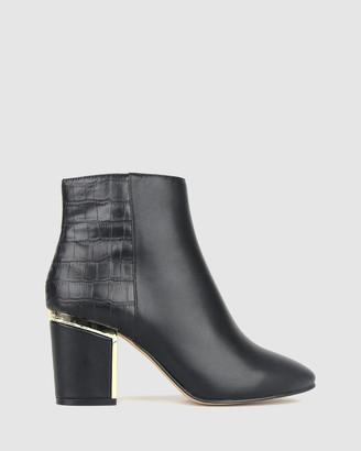 betts Rage Block Heel Ankle Boots