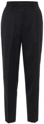 Noir Kei Ninomiya Wool high-rise straight pants