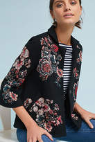 Moulinette Soeurs Jacquard Floral Blazer