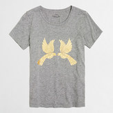 J.Crew Factory Mirrored birds collector T-shirt