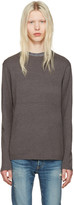 Nonnative Grey Clerk Sweater