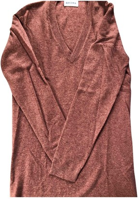 Brora Pink Cashmere Dress for Women