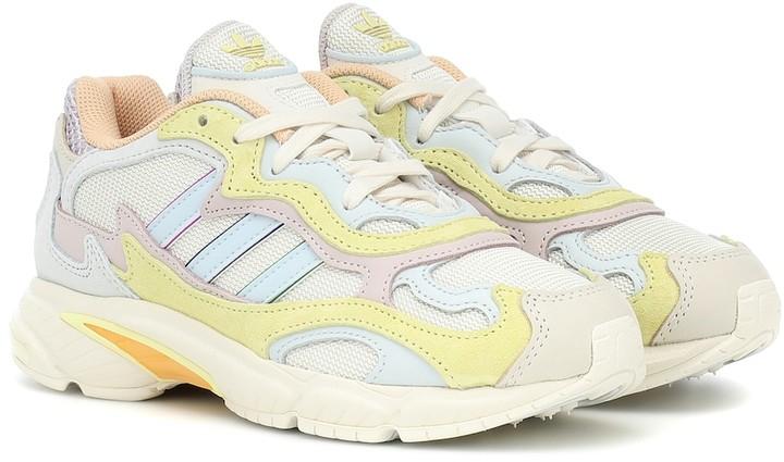 adidas Temper Run Pride leather sneakers