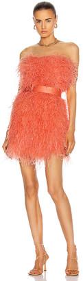 RÊVE RICHE Bibi Cocktail Dress in Persimmon | FWRD