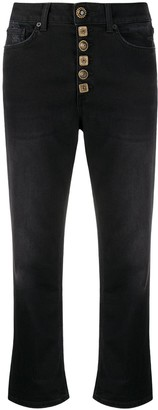 Dondup High-Rise Cropped Jeans