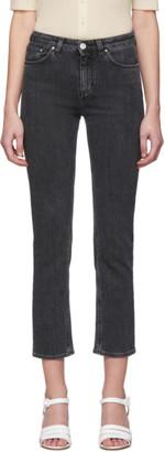 Totême Grey Straight Jeans