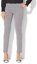 New York & Co. 7th Avenue Design Studio - Legging Fit - Slim-Leg Pant - Print