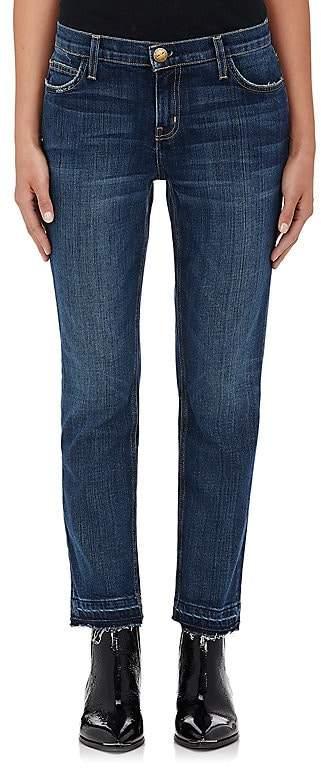 Current/Elliott Women's Cropped Straight Jeans