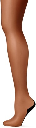 Pretty Polly Women's Nylons 10D Gloss Backseam Tights