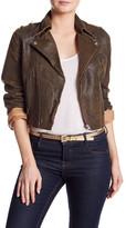 Jakett Distressed Genuine Leather Josey Jacket