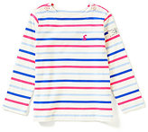 Joules Baby/Little Girls 12 Months-3T Marina Striped Knit Swing Top