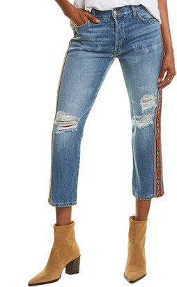 Siwy Valerie Another Day In Paradise Crop Straight Leg Jean