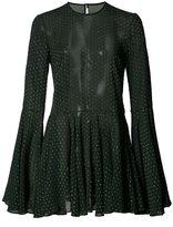 Rosetta Getty flared blouse - women - Silk/Polyester/Viscose - 0
