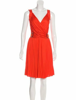 Gucci Pleated Sleeveless Dress w/ Tags