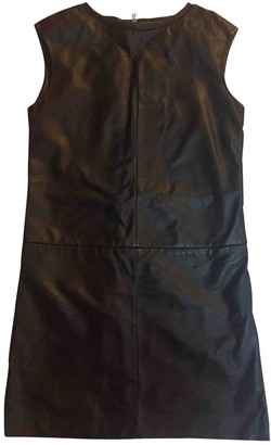 Cacharel Black Leather Dress for Women