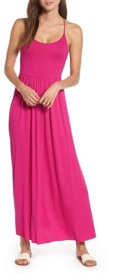Soprano Strappy Back Maxi Dress