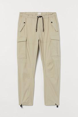 H&M Cotton Cargo Pants