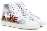 Saint Laurent SL/06 Love leather sneakers