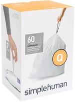 Williams-Sonoma Williams Sonoma simplehumanTM; (Q) Custom Fit Trash Can Liners, 60pk
