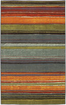 JCPenney Mohawk Home Rainbow Stripe Rectangular Rug