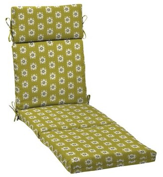 Charlton Home Balthrop Medallion Outdoor Chaise Lounge Cushion