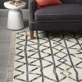 west elm Torres Wool Kilim - Iron