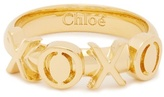 Chloé XOXO ring