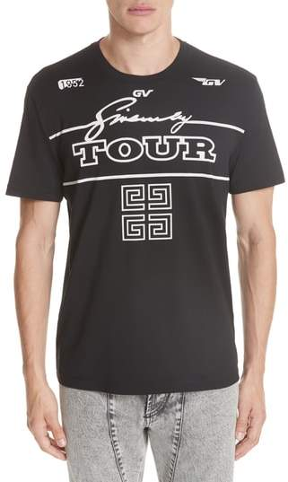 Givenchy Tour Graphic T-Shirt
